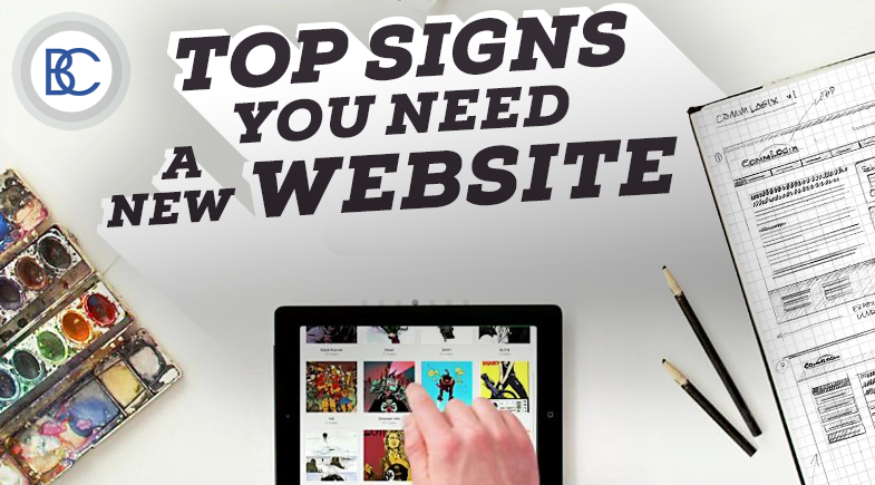 Top Signs You Need a New Website