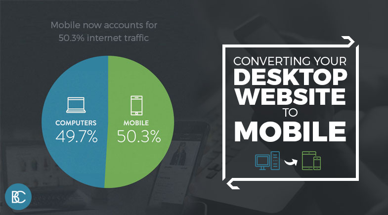 Converting Your Desktop Website to Mobile