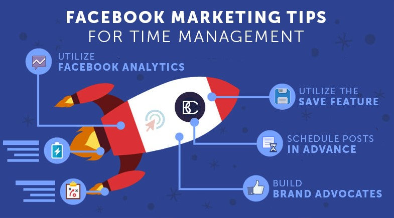 Facebook Marketing Tips for Time Management