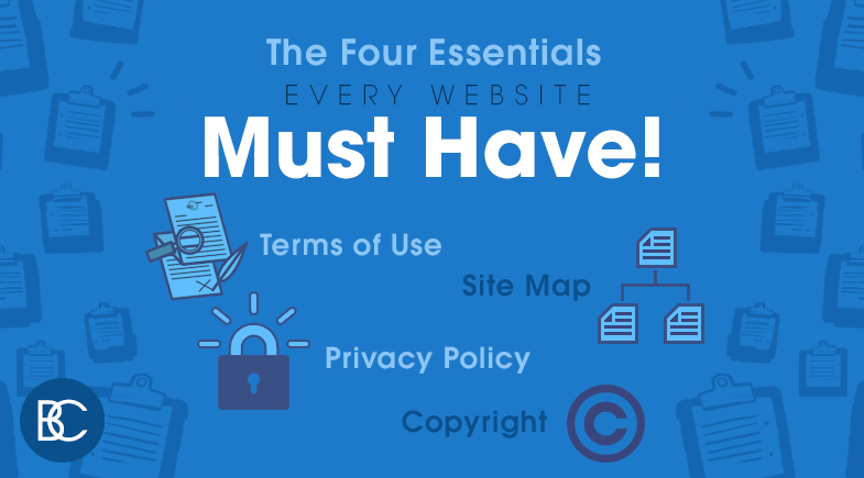 The Four Essentials Every Website Must Have