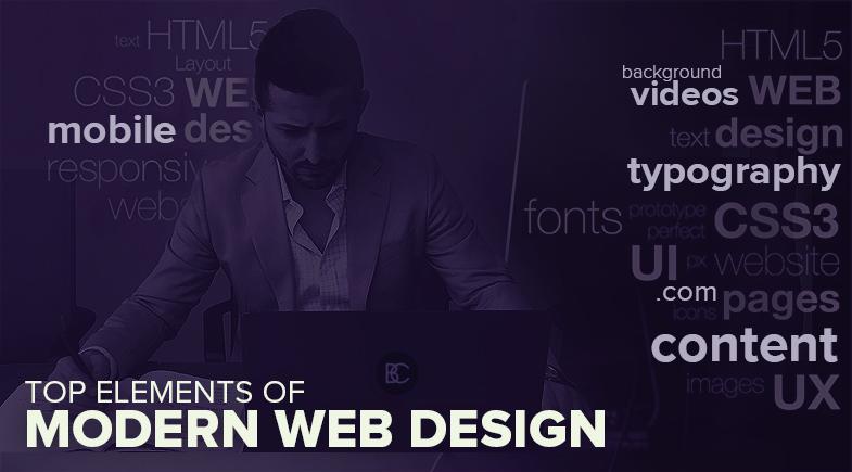 Top Elements of Modern Web Design